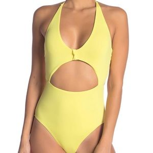 VYB Peek-A-Boo One Piece Swimsuit Size XL NWOT